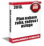 Plan nabave roba, radova i usluga u 2013.g.