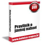 Pravilnik o javnoj nabavi