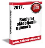 Registar ugovora jednostavne nabave u 2017. godini